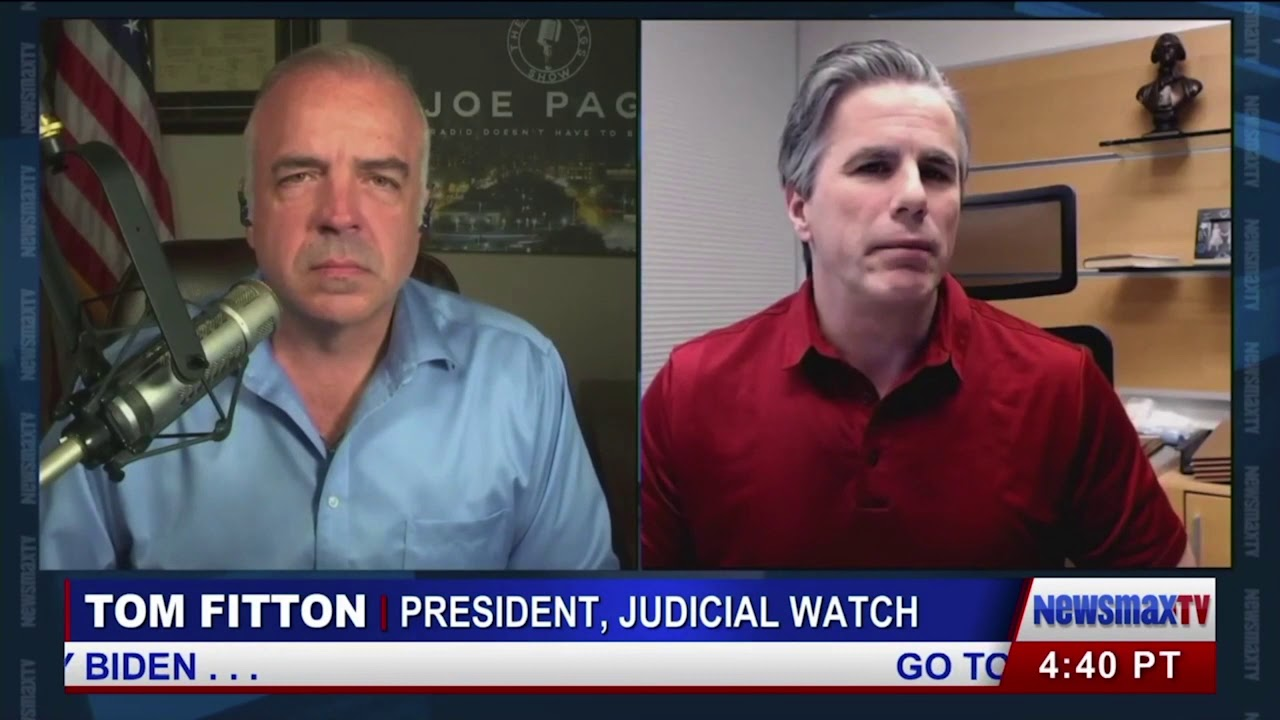 Tom Fitton: U.S. Senate Should Not Be Hijacked by Anti-Trump Coup Cabal