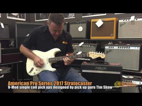 Fender American Professional Stratocaster Demo | Big Music Shop