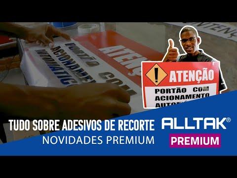COMO UTILIZAR OS ADESIVOS DE RECORTE ALLTAK PREMIUM