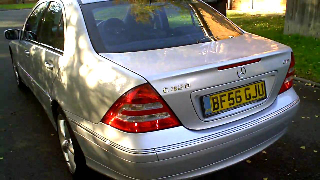 2006 mercedes c320 cdi avantgarde se sports saloon diesel youtube. Black Bedroom Furniture Sets. Home Design Ideas