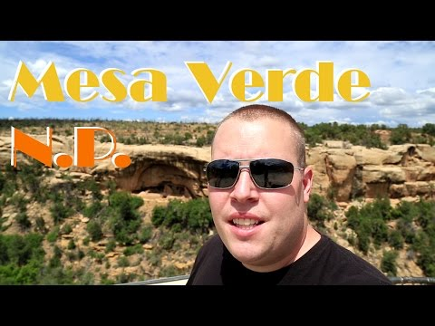 Mesa Verde National Park in Southwest Colorado 2017 travel vlog