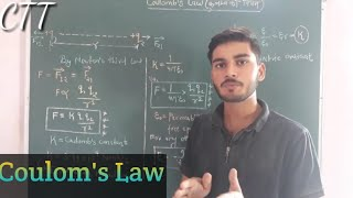 Coulomb's Law | by Sachin sir |JEE/NEET