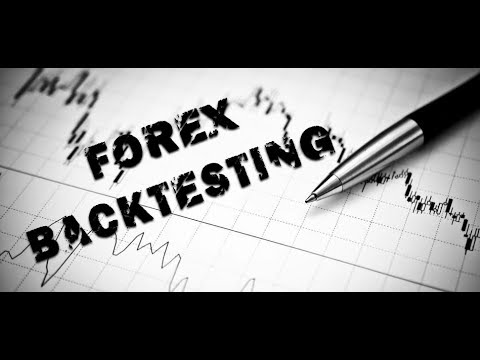 Backtesting a forex trading strategy