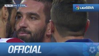 Golazo de Arda Turan (1-2) Real Madrid - Atlético(Golazo de Arda Turan (1-2) Real Madrid - Atlético SUSCRIBETE AL MEJOR CANAL HD La Liga | Amazing goal of Arda Turan (1-2) Real Madrid - Atlético de ..., 2014-09-13T19:50:01.000Z)