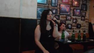 Katie Melua - Nine Million Bicycles - Karaoke at Tunes Pub Bucharest