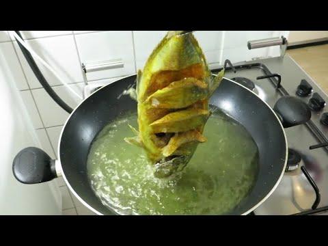 Trik menggoreng ikan yang unik, cara menggoreng ikan krispy