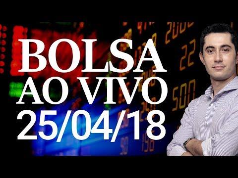 🔴 DAY TRADE AO VIVO EM MINI CONTRATOS E AÇÕES - 25/04/2018.
