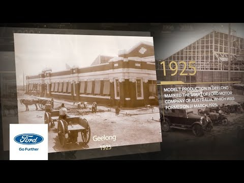 91 Years Of Manufacturing In Australia | Ford Australia