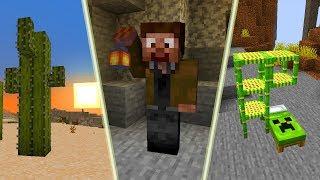 Nowy, GENIALNY Wygląd Minecraft 1.14! Piękne Kaktusy, Świetna Lampa! (Paczka Tekstur)