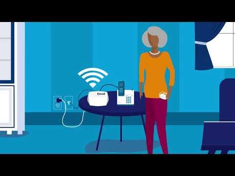 Setting Up Your Philips Lifeline HomeSafe Landline Medical Alert System