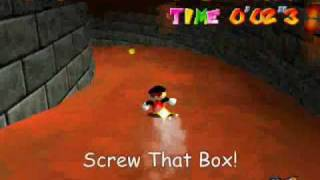 More Stupid Death in SM64 Toad Tool Edition Part 2/3