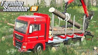 Załadunek drzewa - Farming Simulator 19 | #30