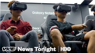 Therapists Are Using VR Headsets To Cure Phobias (HBO)
