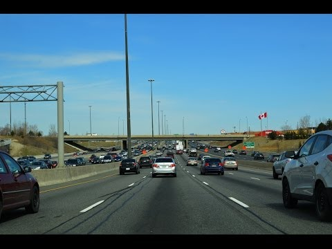 Highway 401 Through Toronto: World's Busiest Freeway