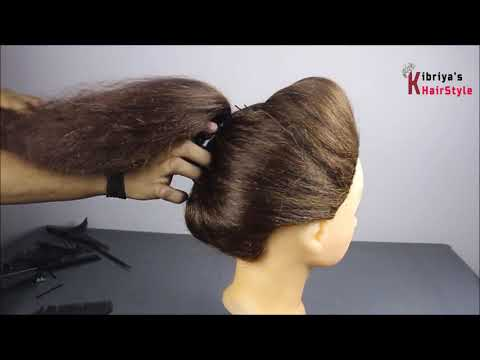 very-beautiful-and-easy-juda-hairstyle-for-party-||-hair-style-girl-||-hairstyles-for-girls-||-juda
