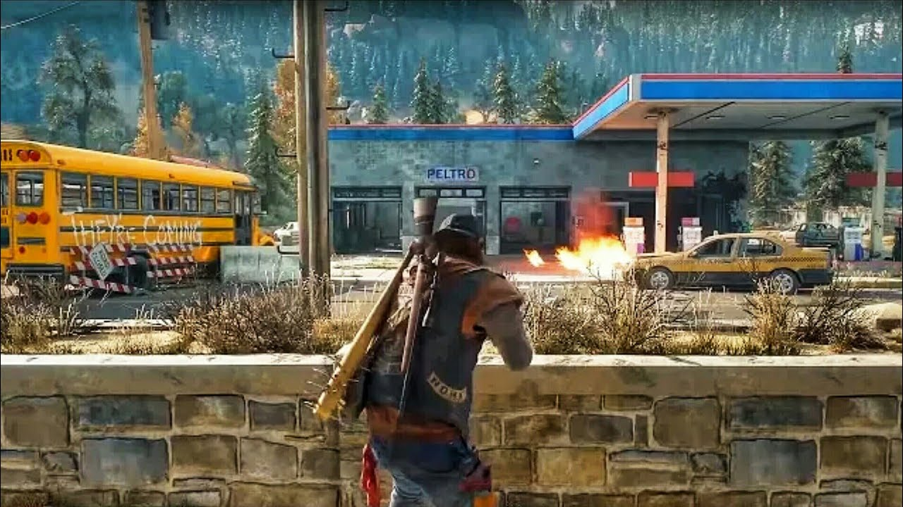 Days Gone - 15 Minutes of Gameplay Demo