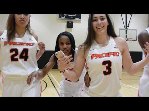 2017-18 Pacific Women's Basketball Hype Video