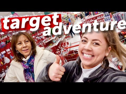 TARGET CHRISTMAS ADVENTURES WITH MY MOM | Vlogmas Day 15 thumbnail