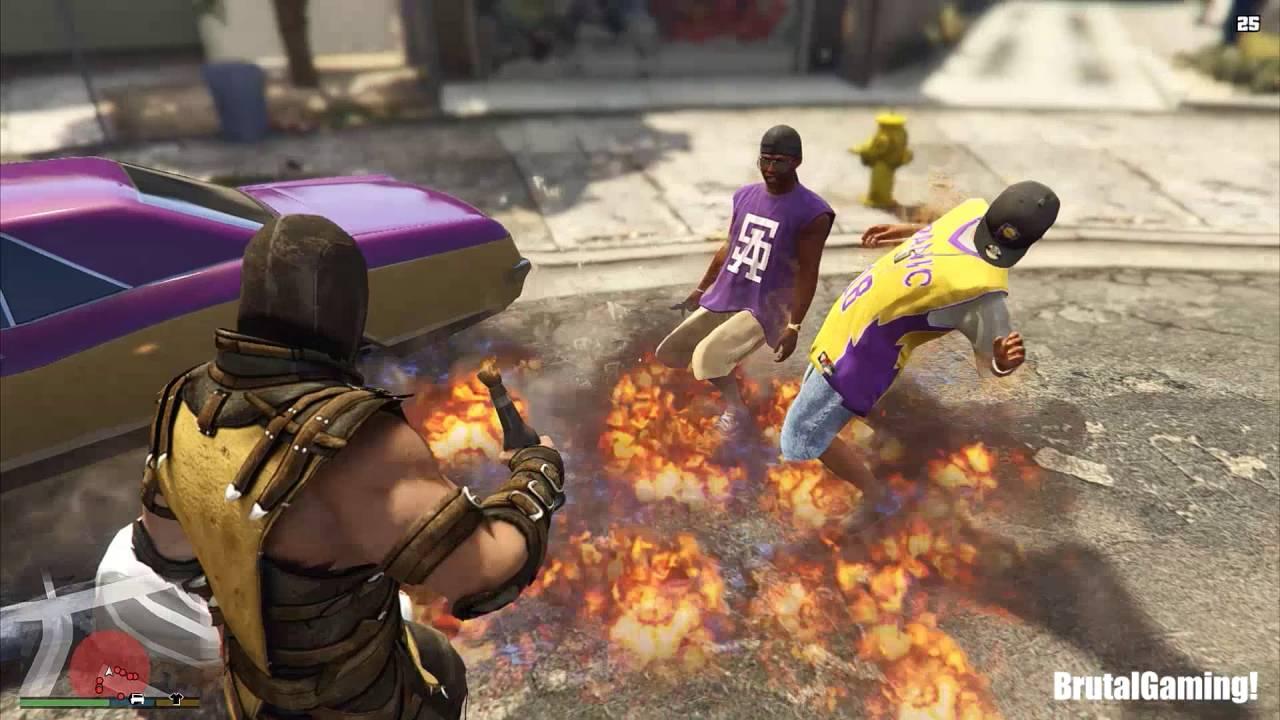 163c42f698 GTA 5 BRUTAL COMPILATION (Grand Theft Auto V Brutality SCORPION Funny Thug  life) - YouTube
