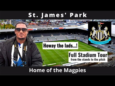St James' Park Stadium Tour, Newcastle, England