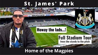 St James39; Park Stadium Tour, Newcastle, England