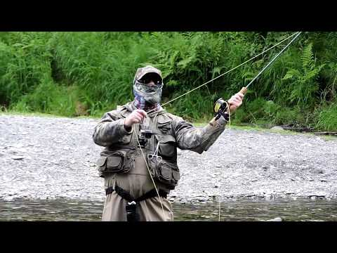 Fly Fishing Russian River in Alaska
