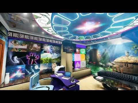 3D Дизайн интерьера офиса натяжных потолков, Транслюцид, Евгений Лайтер