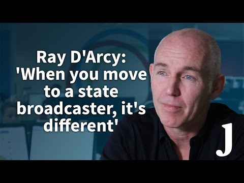 Ray D'Arcy: 'When you move to a state broadcaster, it's different'