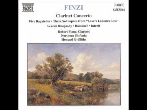 FINZI Clarinet Concerto