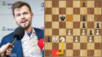 A Move of Legends || Jobava vs Carlsen || World Blitz Championship (2019)
