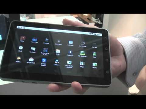 ViewSonic ViewPad 7 Android tablet with 7 inch capacitive Touchscreen Hands-on at IFA 2010