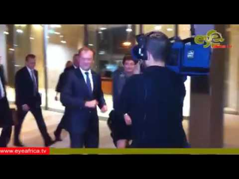 President of The European Council Arrival