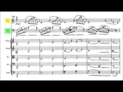 Johannes Brahms - Double Concerto [With score]