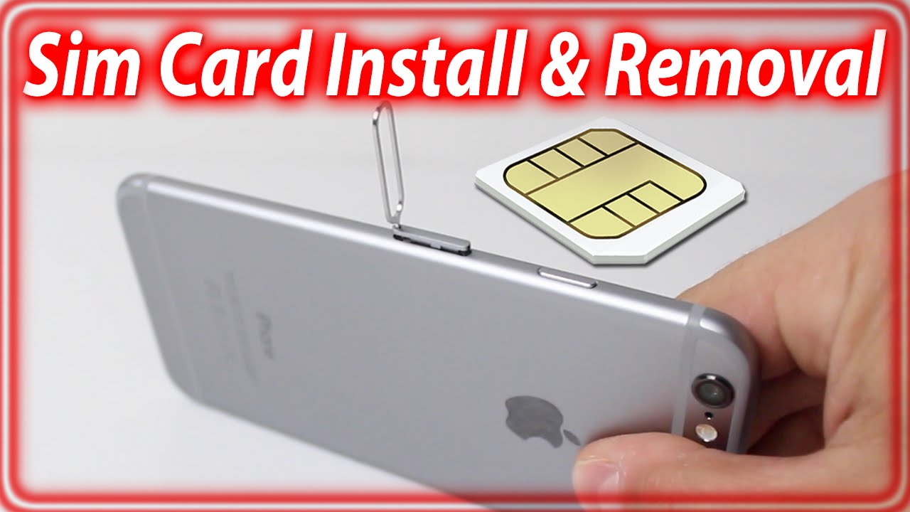 how to put sim card in iphone 5 how to insert remove sim card from iphone 6 and iphone 6 20953