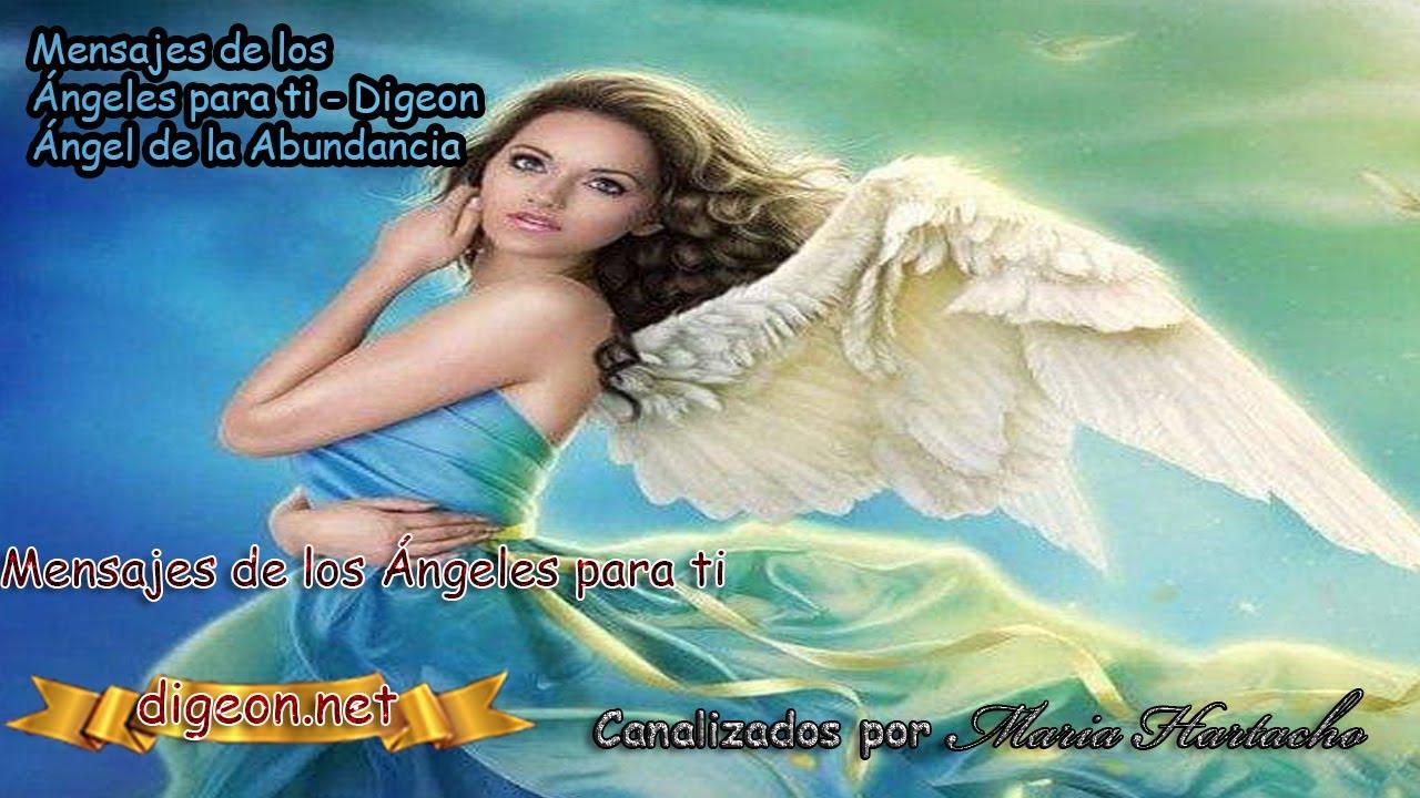 💌 MENSAJES DE LOS ÁNGELES PARA TI - DIGEON  04 de Agosto - Ángel De La Abundancia💌