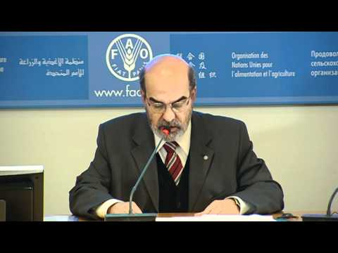 Footage for broadcasters: FAO Director-General José Graziano da Silva
