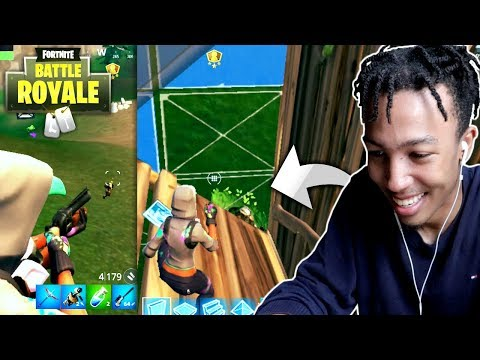 FORTNITE MOBILE PLAYERS SCARED OF ME? *lol* (FN iOS S4)
