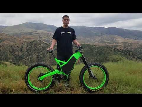 World's First Downhill Fat Bike, HPC Revolution AT