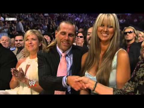 WWE Hall of Fame 2008 The Rock Part 2 2 YouTube