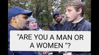 HASHIM DESTROYES ATHEIST AT SPEAKERS CORNER PART 1