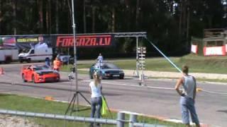 3000GT VR4 VS HONDA CRX