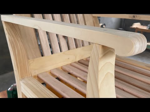 Crafting Furniture From Cheap Wood // Cheap Wood Processing Project