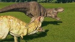 tyrannosaurus vs giganotosaurs free music download