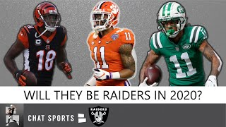 Raiders Free Agency Rumors On A.J. Green & Robby Anderson + Raiders 2020 Draft Rumors & Targets