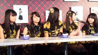 Q: AKB48のメンバーとコレボーの感想 Q: ライブの練習のなかで一番難し...