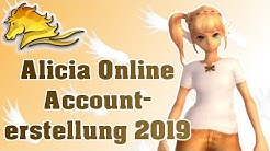 Wie erstellt man einen Account in Alicia Online?