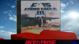 F-15 Strike Eagle III (Intro & Tutorial) CD Version, mt-32/sb