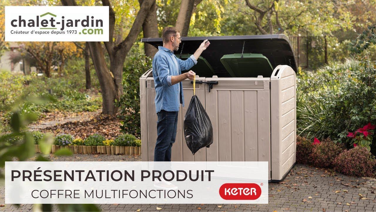 coffre multifonctions resine 2000l keter