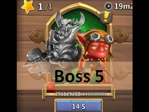 CC #15 Update TW: Boss 5 By Hunted Castle Clash Taiwan Server