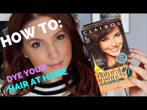 HOW TO: DYE YOUR HAIR AT HOME WITH CLAIROL | MELSOLDERA